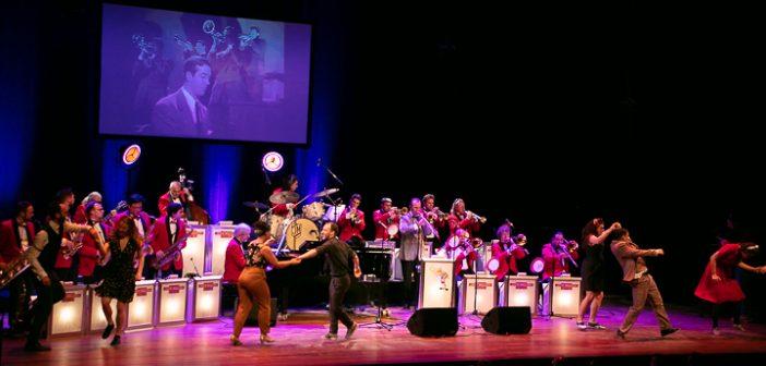 The Jack Million Band en de Mo Jones Big Band feat. Jennie Lena laten oude tijden herleven