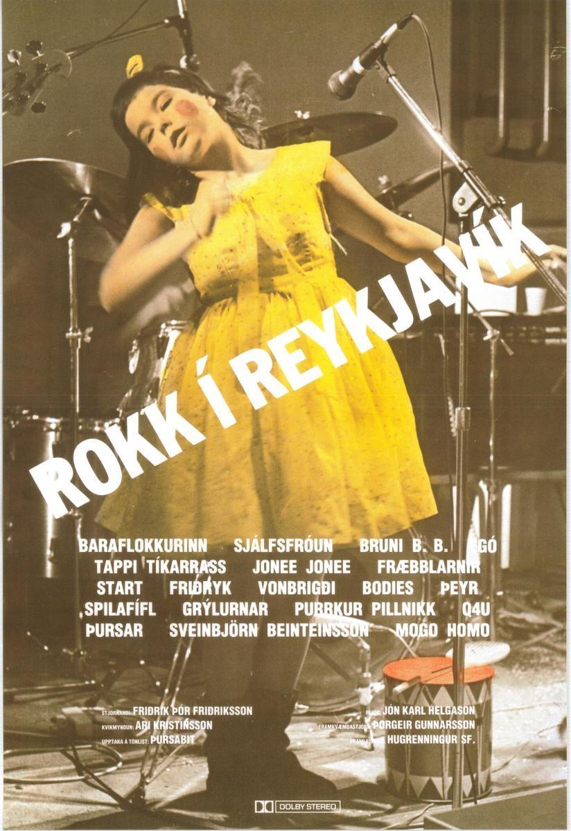 Rokk í Reykjavik Sugarcubes Björk
