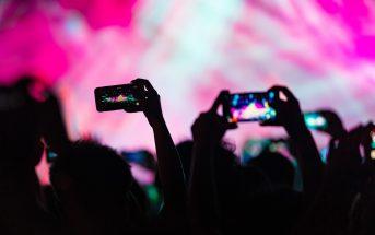 concert camera telefoon gsm